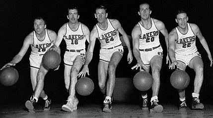 """Los Angeles Lakers"", 1950 m."
