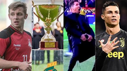 """""""Vieni vartai"""": geriausių rinkimai, LFF skolos, taurės finalas ir skandalingi gestai"""