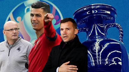 """""""Vieni vartai"""": C.Ronaldo Lietuvoje, Ukrainos žvaigždynas ir pamiršti faktai"""