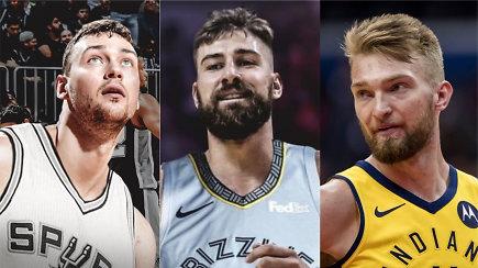 """""""Atsarginiai"""" ir didžiosios intrigos: kam ruošiamas Jonas Valančiūnas, kas pakylės """"Spurs""""?"""