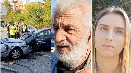 Didelė avarija Vilniuje: liudininkai papasakojo savo išgyvenimus ir kas įvyko