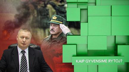 Grėsmingos COVID-19 statistikos Baltarusijoje fone A.Lukašenkos konfrontacija su V. Putinu: galimas net karinis konfliktas
