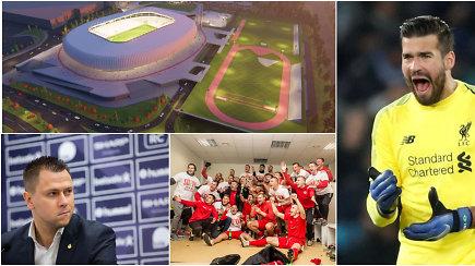 """""""Vieni vartai"""": nacionalinio stadiono cirkas,  A lygos gelbėjimo planas ir Čempionų lyga"""