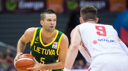M.Kalnietis: didžiausias kaifas vėl žaisti krepšinį