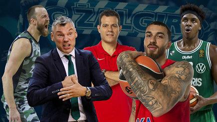 """""""Eurolygos diena"""": kaip oras reikalinga pergalė ir """"Žalgirio"""" akistata su CSKA"""