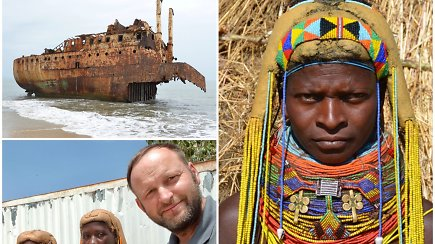 Ekspedicija Afrika: vienoje mažiausiai turistų lankomų šalių – karo žaizdos, nepaprasta gamta ir gentys (IV)