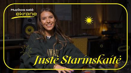 Justė Starinskaitė apie ispanišką Paskambink man, šokių aikšteles ir kūrybą | Muzikos salė ekrane