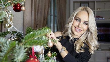 Oksana Pikul-Jasaitienė – apie Kalėdas, eglutę ir naujamečius linkėjimus
