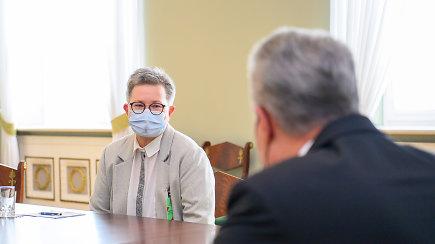 Su prezidentu susitikusi R.Račienė: išgirdau pažadą, kad jis bus vienijantis žmogus