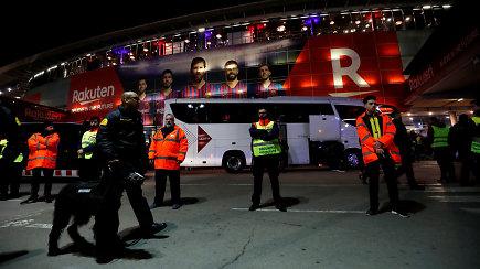"""""""Eurolygos diena"""": """"Žalgirio"""" viešnagę Barselonoje nustelbė grandiozinis reginys"""