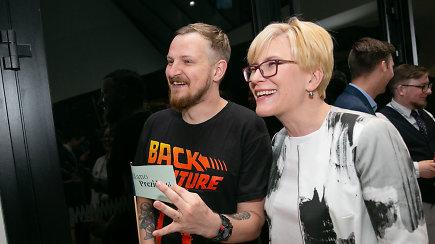Ingrida Šimonytė kartu su gerbėjais rinkimų rezultatų laukė MO muziejuje
