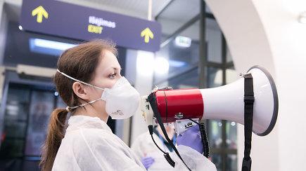 Spaudos konferencija iš Vilniaus oro uosto: aktualiausia informacija apie koronavirusą ir klausimai-atsakymai