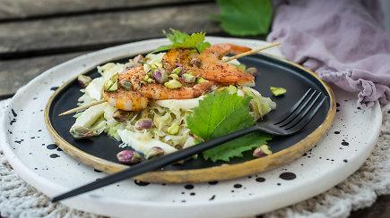 Neįprastas ir nenuviliantis receptas: skrudintų kopūstų salotos