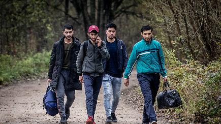 Pasienio kaimuose migrantai vadina save turistais, kartais užsuka ir pas vietos gyventojus