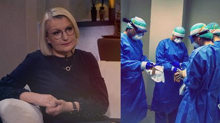 """""""Edvardas Žičkus. Be ribų"""". Infektologė L.Jančorienė apie kovą su nematomu priešu ir tai, ką mato tik artimieji"""