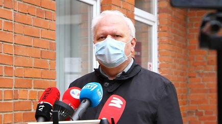 Iš Panevėžio – ligoninės direktorius A.Skorupskas apie naujus užsikrėtimo koronavirusu atvejus