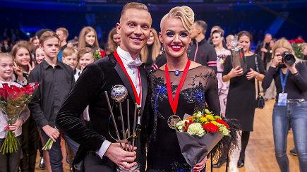 Karštos emocijos: Evaldas Sodeika ir Ieva Žukauskaitė – pasaulio čempionai