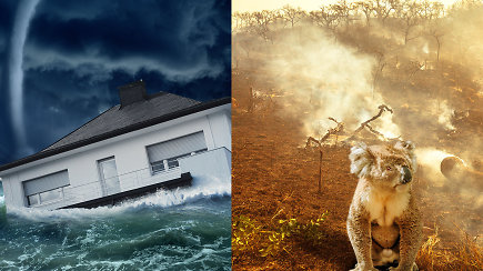 Klimatologas: manantys, kad klimato atšilimas yra tik kylanti temperatūra – klysta – sulauksime ekstremalių oro sąlygų