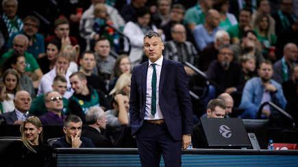 """Šarūnas Jasikevičius po pralaimėjimo """"Barselonai: """"Visai ne taip įsivaizdavau šias rungtynes"""""""