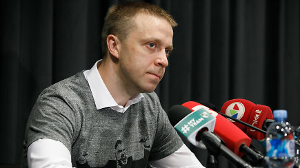"""""""Žalgirio"""" vadovas – apie atsisveikinimą su Šarūnu Jasikevičiumi ir naują trenerį"""