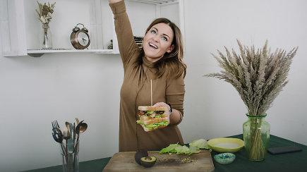 Tobuliems savaitgalio pusryčiams: svajonių sumuštinis