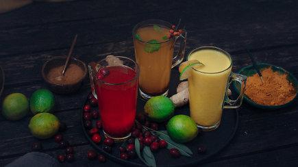 Kad jokie virusai nebūtų baisūs: 3 karštųjų gėrimų receptai