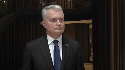 G.Nausėda apie galimą korupciją Seime: nedarykime tokių žingsnių, dėl kurių vėliau tektų gailėtis