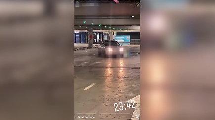 Po įrašo socialiniuose tinkluose – bauda ir prarastos teisės vairuoti