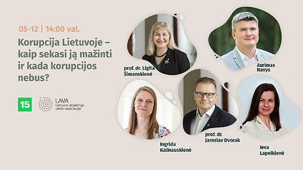 Korupcija Lietuvoje – kaip sekasi ją mažinti ir kada korupcijos nebus?