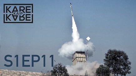"""""""Hamas"""" teroristų atakos ir Izraelio """"geležinis kupolas"""" – kaip veikia unikali oro gynybos sistema?"""