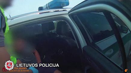 Trumpikėse slėpti narkotikai lentvariškių neišgelbėjo nuo areštinės