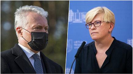 Komentarai po G.Nausėdos ir I.Šimonytės susitikimo su partijų lyderiais