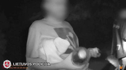 Trakuose pareigūnams su narkotikais įkliuvo jaunuolis
