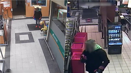 Pareigūnams reikia pagalbos: ieškomas vaizdo įraše užfiksuotas asmuo