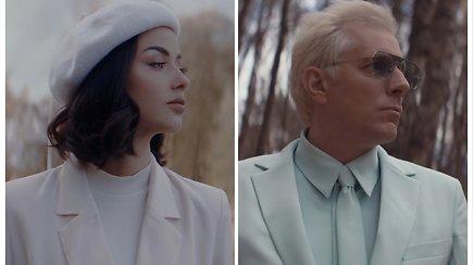 """Saulius Prūsaitis ir Iglė po trejų metų vėl drauge: pristato dainą """"Tyliai išeinu pas kitą"""""""