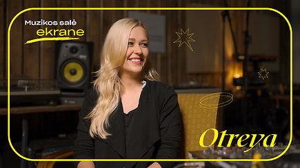 Otreya apie duetą su Alekna, vaizdo klipus, albumo poreikį ir meilę gitaroms   Muzikos salė ekrane