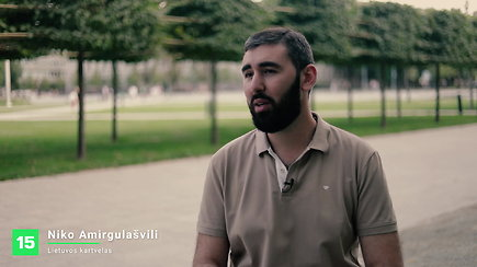Kartvelas Niko Amirgulašvili – apie tautų panašumus ir skirtumus