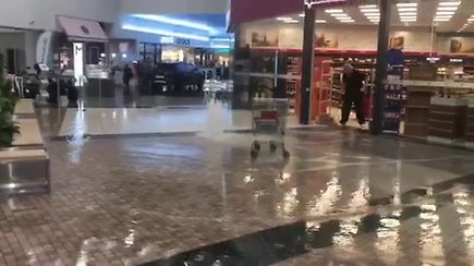 """Potvynis prekybos centre """"Mega"""""""