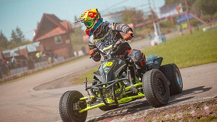 "Lietuvos ""Super Moto"" čempionato etapas Smalininkų kartodome"