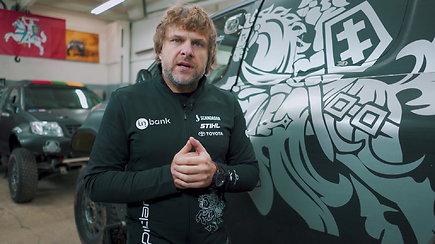 """Benediktas Vanagas praneša svarbią naujieną: komanda vadinsis """"Inbank Toyota Gazoo Racing Baltics"""""""