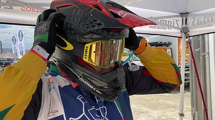 Motociklininkas Modestas Siliūnas Andalūzijos ralyje