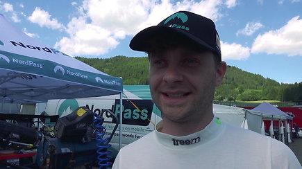 """Jonas Karklys vis greitėja, """"Red Bull Ring"""" finišavo septintas"""