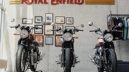 """""""Kmoto"""" motociklų salono atidarymas"""