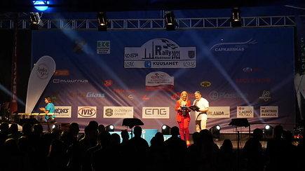 Kuusamet group Rally Elektrėnai  LIVE transliacija iš apdovanojimo ceremonijos