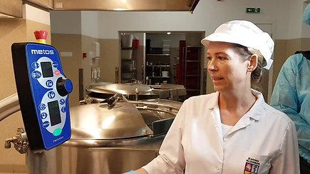 Kauno klinikų virtuvėje atnaujinta įranga