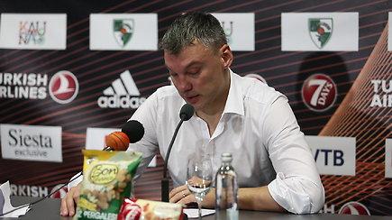 Šarūnas Jasikevičius: Tai buvo geriausia pergalė, kokią esam pasiekę su šia komanda