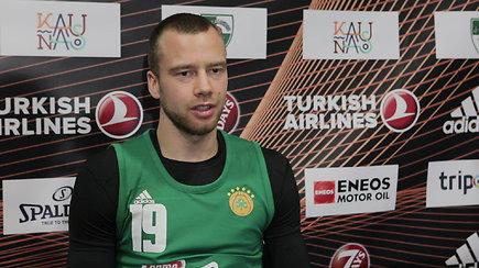 Lukas Lekavičius nustebęs naujo trenerio pasitikėjimu