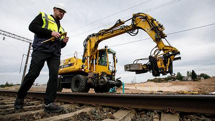 """""""Rail Baltica"""" europinio geležinkelio tiesimo darbai"""