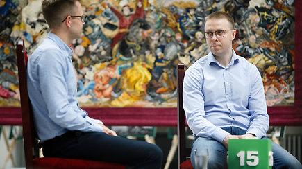 """15min Klausyk! gyvi pokalbiai: pokalbis su Pauliumi Motiejūnu apie """"Žalgirio"""" fenomeną"""
