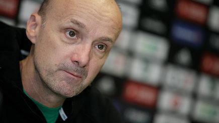 """Jure Zdovcas prieš dar vieną dvigubą """"Eurolygos"""" savaitę: """"Nežinau, kas yra žaidėjų galvose"""""""